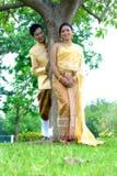 O casamento casa pares Imagens de Stock