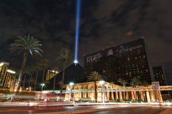 O casino do hotel de Luxor, um marco de Vegas foto de stock royalty free