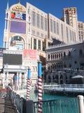 O casino Venetian da estância em Las Vegas Fotos de Stock Royalty Free