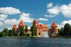 O castelo. fotografia de stock