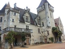O castelo Imagens de Stock Royalty Free