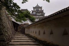 O castelo bonito de Himeji do patrimônio mundial do UNESCO Imagem de Stock