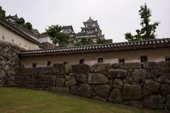 O castelo bonito de Himeji do patrimônio mundial do UNESCO Foto de Stock