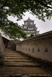 O castelo bonito de Himeji do patrimônio mundial do UNESCO Fotografia de Stock Royalty Free