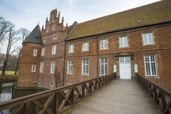 o castelo da água herten Alemanha Foto de Stock