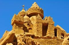 O castelo da areia. Foto de Stock