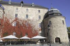 O castelo de Ãrebro Imagens de Stock Royalty Free