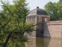 O castelo de Ahaus em Alemanha imagem de stock royalty free
