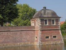 O castelo de Ahaus em Alemanha imagens de stock