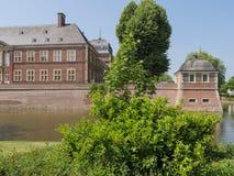 O castelo de Ahaus em Alemanha foto de stock