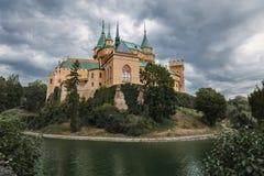 O castelo de Bojnice - - Bojnice - Eslováquia Imagens de Stock Royalty Free