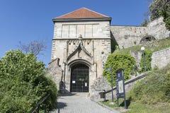 O castelo de Bratislava imagem de stock