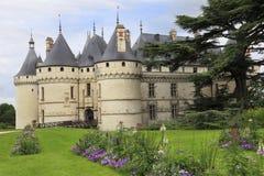 O castelo de Chaumont, França Imagem de Stock