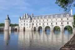 O castelo de Chenonceau Foto de Stock