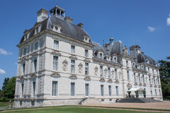 O castelo de Cheverny no Loire Valley Imagens de Stock Royalty Free