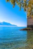 O castelo de Chillon Fotos de Stock Royalty Free