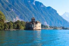 O castelo de Chillon Imagens de Stock