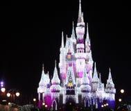 O castelo de Cinderella do mundo de Disney Imagem de Stock Royalty Free