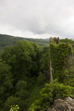 O castelo de Dorneck é um castelo na municipalidade de Dornach Fotografia de Stock