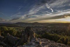 O castelo de Dorneck é um castelo na municipalidade de Dornach Imagem de Stock Royalty Free