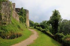 O castelo de Dorneck é um castelo na municipalidade de Dornach Fotografia de Stock Royalty Free