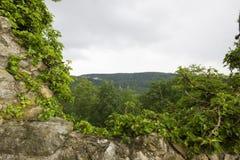 O castelo de Dorneck é um castelo na municipalidade de Dornach Imagens de Stock Royalty Free