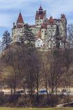 O castelo de Dracula, farelo, Romênia Fotos de Stock Royalty Free