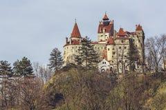 O castelo de Dracula, farelo, Romênia Foto de Stock