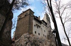 O castelo de Dracula na Transilvânia Fotografia de Stock Royalty Free
