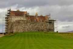 O castelo de Duart da MacLean-ilha do clã de ferventa com especiarias, Escócia fotos de stock
