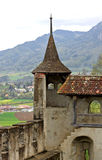 O castelo de Gruyères (Switzerland) Imagem de Stock