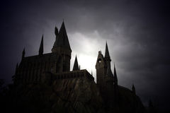 O castelo de Harry Potter imagem de stock royalty free