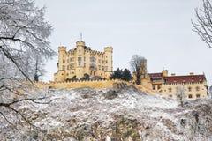 O castelo de Hohenschwangau em Alemanha. Baviera Imagem de Stock