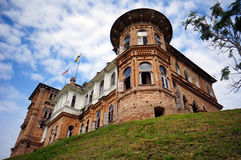 O castelo de Kellie abandonado Foto de Stock