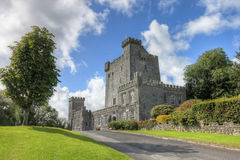 O castelo de Knappogue em Co. Clare, Ireland. Imagens de Stock Royalty Free