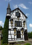 O castelo de lichtenstein do conto de fadas Imagem de Stock Royalty Free
