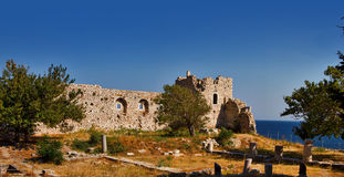 O castelo de Logothetis em Samos Fotografia de Stock