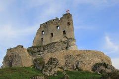 O castelo de Mirów arruina poland. Fotografia de Stock Royalty Free