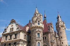 O castelo de Moszna é um palácio histórico Imagem de Stock Royalty Free