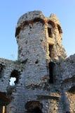 O castelo de Ogrodzieniec arruina poland. Fotografia de Stock