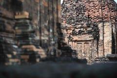 O castelo de pedra em isan de Tailândia é a cultura da arquitetura velha Fotografia de Stock Royalty Free