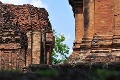 O castelo de pedra em isan de Tailândia é a cultura da arquitetura velha Imagem de Stock