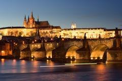 O castelo de Praga Foto de Stock Royalty Free