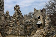 O castelo de TematÃn foto de stock royalty free