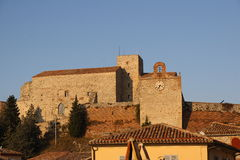O castelo de Verucchio Imagem de Stock Royalty Free