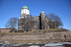 O castelo de Vyborg fotos de stock royalty free
