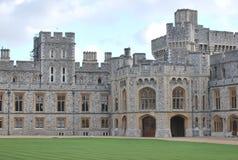 O castelo de Widsor no Reino Unido fotos de stock