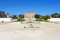O castelo de Zisa em Palermo, Sicília Italy Imagens de Stock Royalty Free