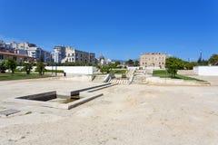 O castelo de Zisa em Palermo, Sicília Italy Imagens de Stock