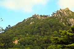 O castelo do amarra imagens de stock royalty free